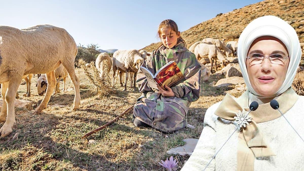 Emine Erdoğan'ın bilgisayar desteği vereceği Yörük kızı Emine Betül Küçükakça konuştu! 'Minnettarım'