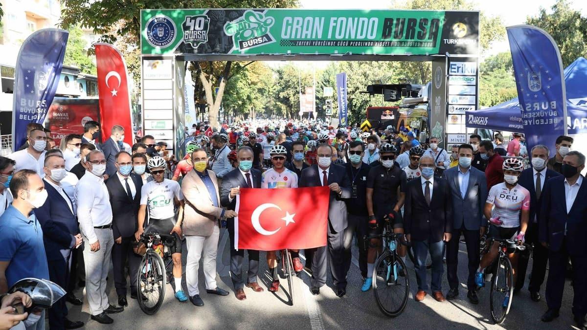 GranFondo Yol Bisiklet yarışı gerçekleştirildi