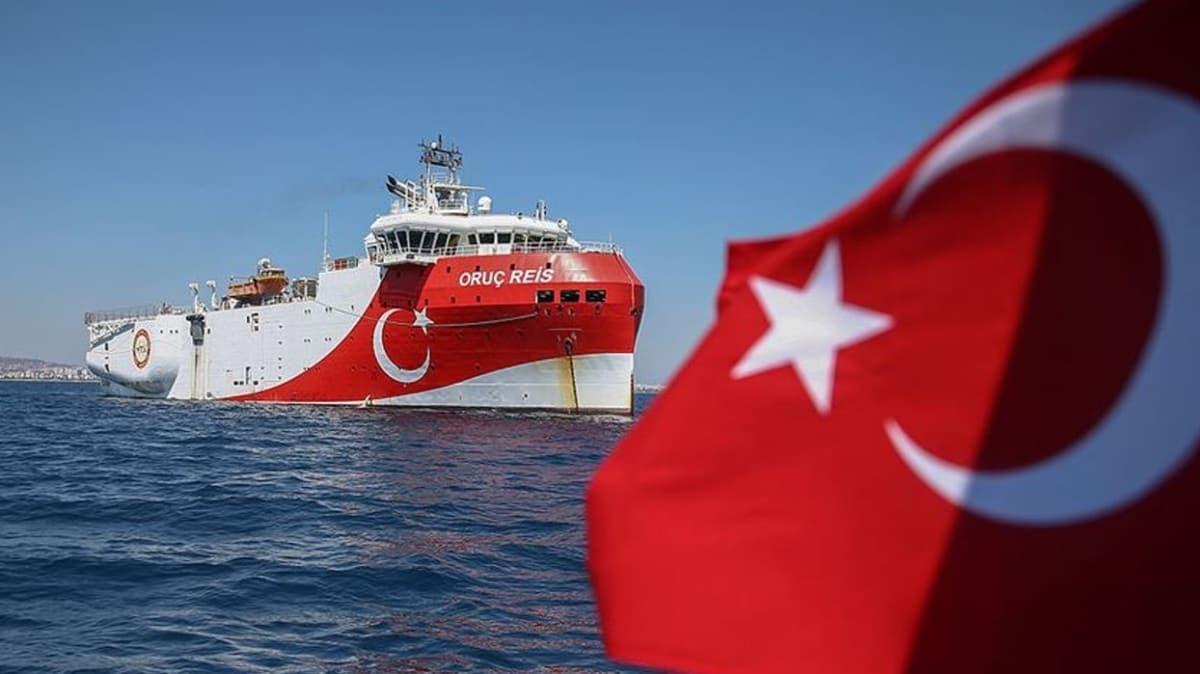 Doğu Akdeniz'de Oruç Reis gemisinin çalışmaları için yeni Navtex
