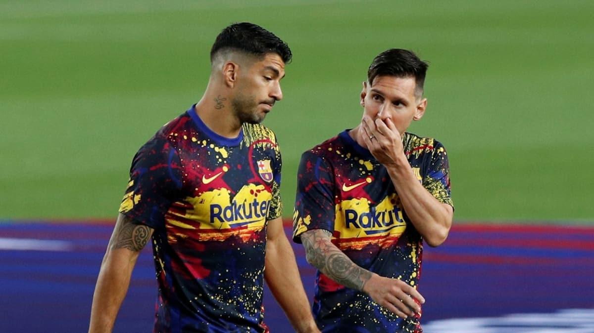 Messi'den sonras Luis Suarez de Barcelona'dan ayrılıyor