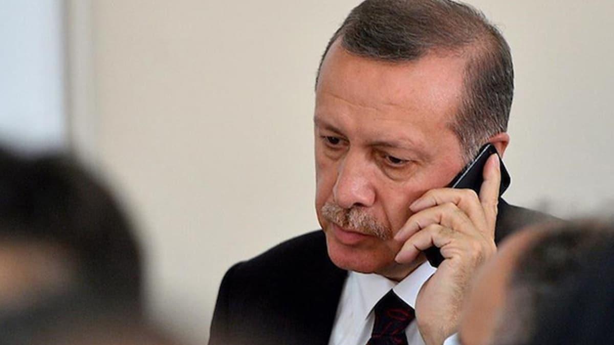 Başkan Erdoğan şehit ailesine taziye mesajı gönderdi