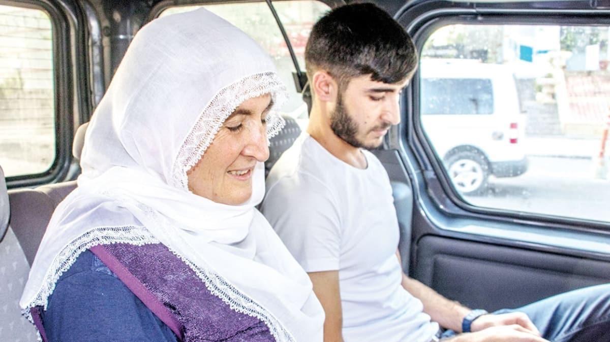 Oğlunu terörden kurtardı, şimdi torununu seviyor