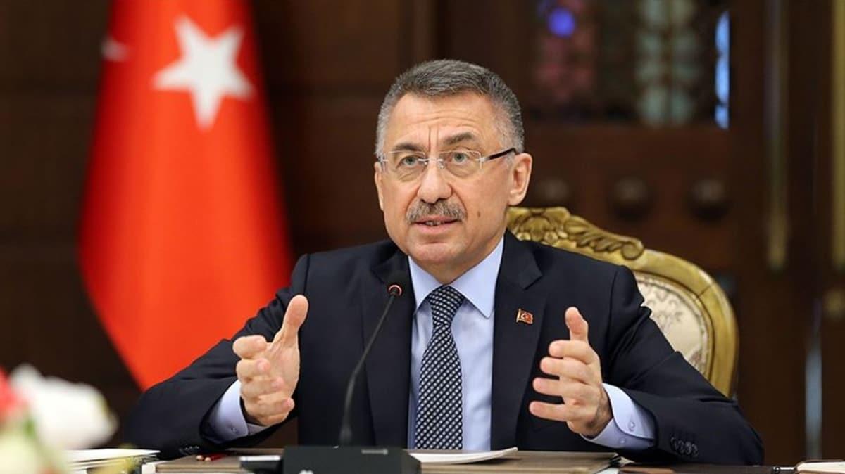 Cumhurbaşkanı Yardımcısı Oktay: ABD'nin GKRY'ye silah ambargolarını kaldırması bölgesel barış ve istikrarı zehirlemektedir