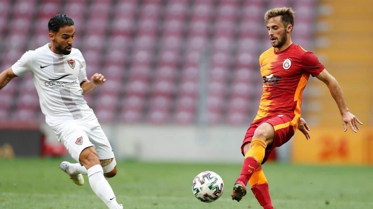 Galatasaray ile Hatayspor yenişemedi