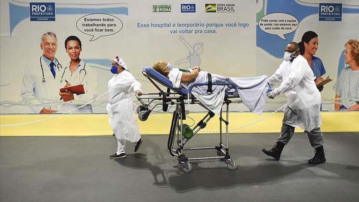 Koronavirüs son 24 saatte Brezilya'da 1184, Hindistan'da 1043, Meksika'da 575 can aldı