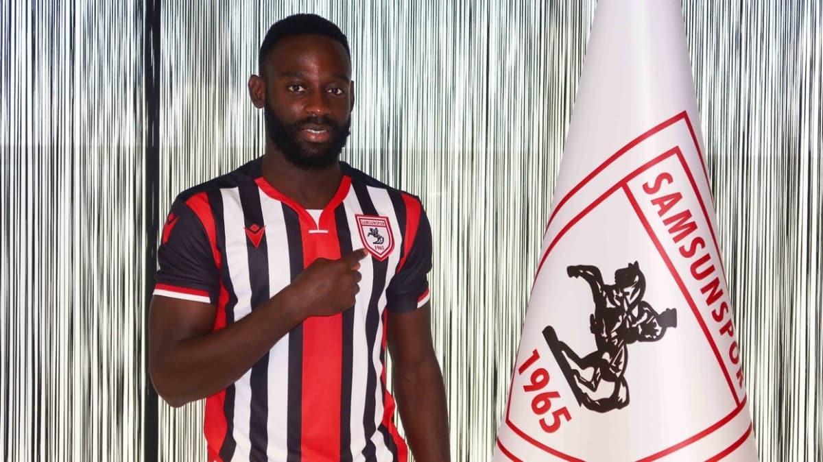 Samsunspor, Kevin Boli ile 3 yıllık sözleşme imzaladı