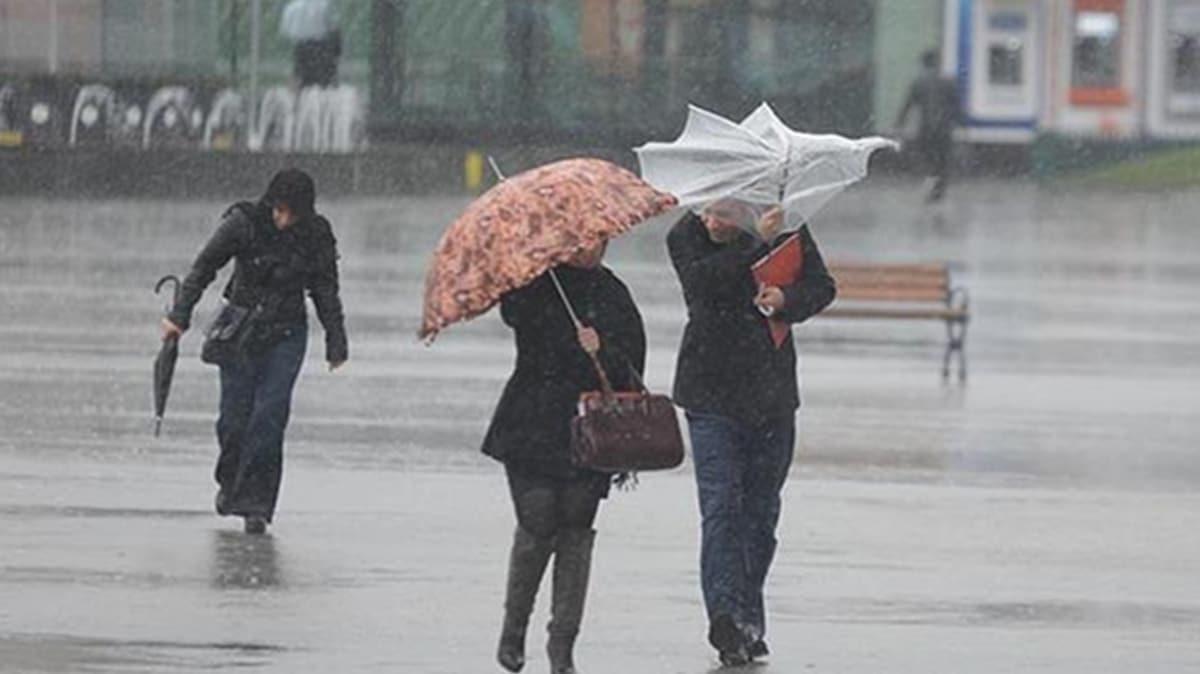 Meteoroloji'den İstanbul dahil 7 il için uyarı: Gök gürültülü sağanak yağış geliyor