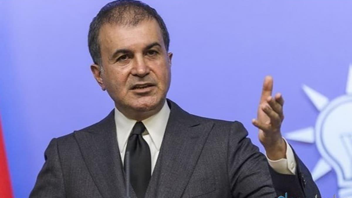 AK Parti Sözcüsü Çelik: Yaptırım olursa, AB mülteciler konusunda iş birliği beklemesin