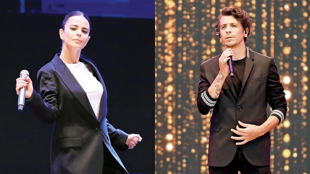 Simge Sağın ve Ersay Üner ile İstanbul Yeditepe Konserleri'nde sahne aldı