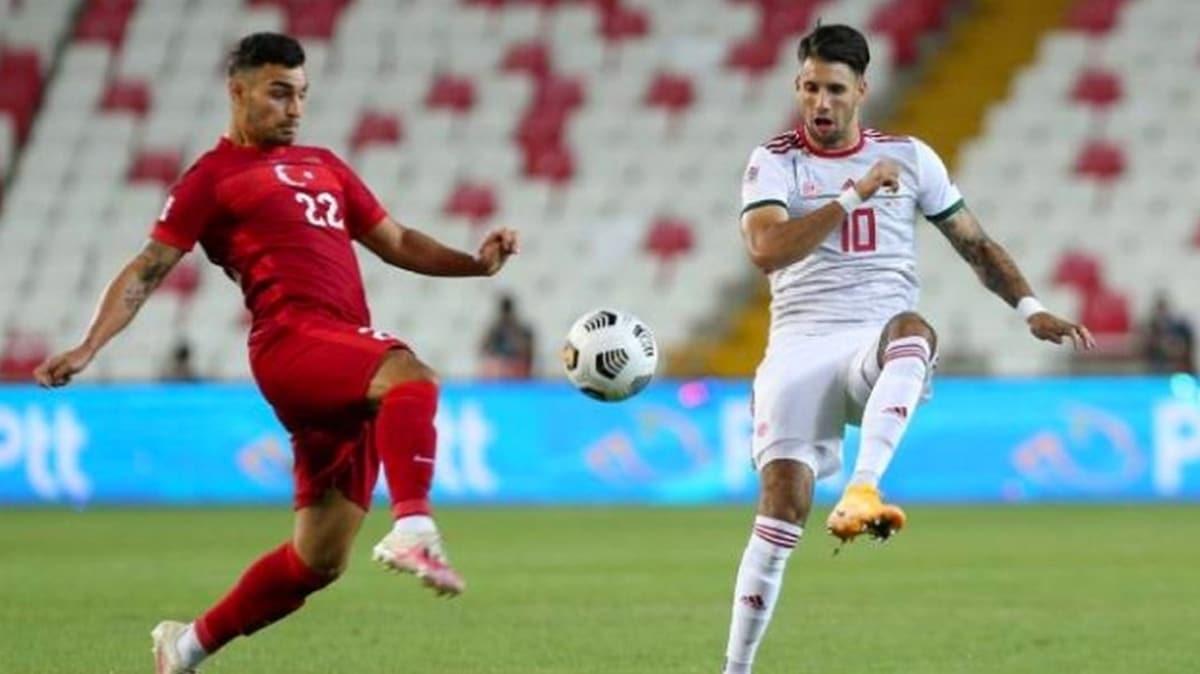 Maç sonucu Türkiye: 0 Macaristan: 1