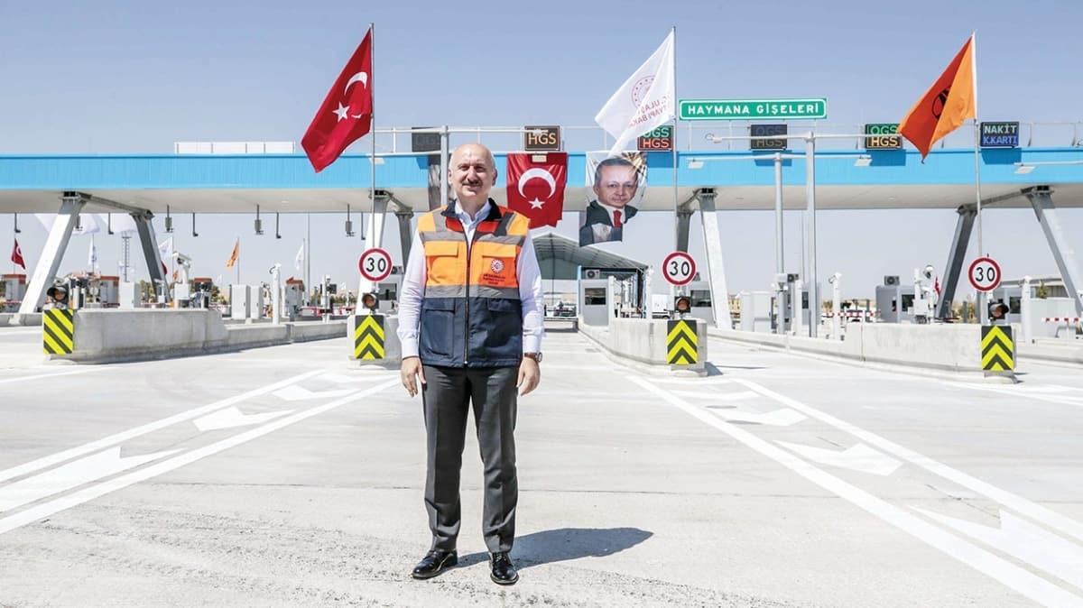 Türkiye'nin ilk 'akıllı' yolu bugün devrede