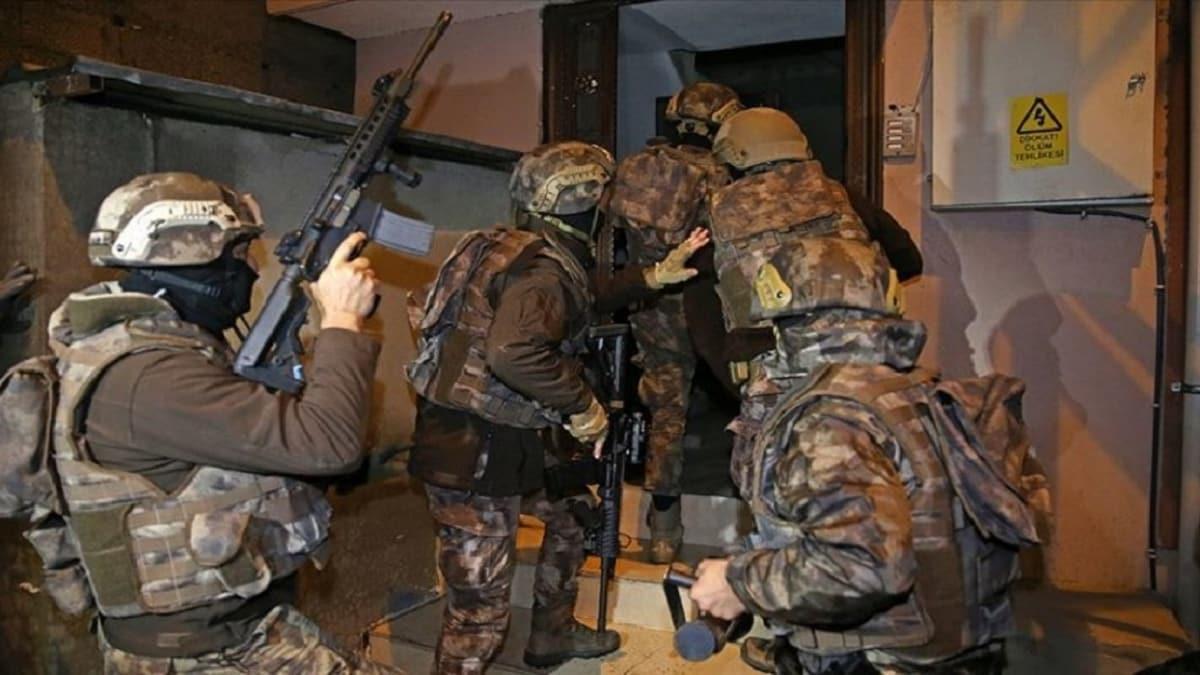 Saldırı hazırlığı yapıyorlardı: Terör örgütü DEAŞ'a üst düzey darbe