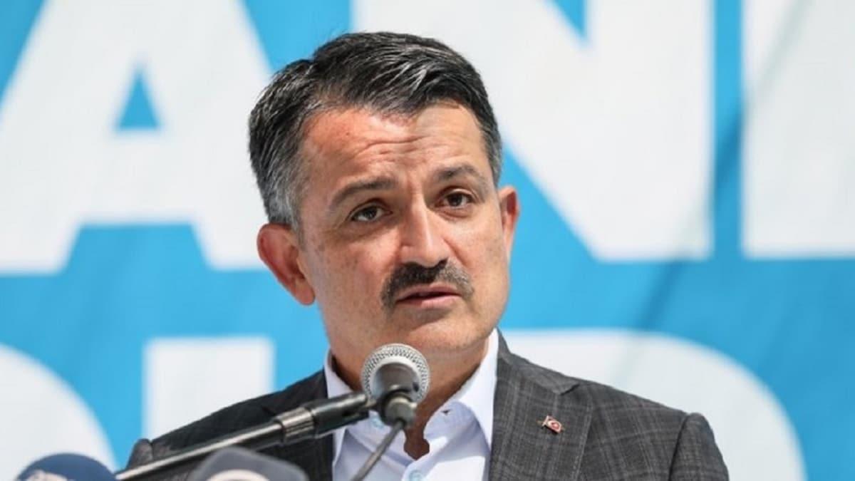 Bakan Pakdemirli: Türkiye'de 24 yangın çıktı, bunlardan 13'ü kontrol altına alındı