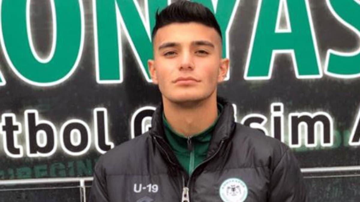 Konyaspor'un genç file bekçisi Mustafa Berzan Tekbaş, yaşamını yitirdi