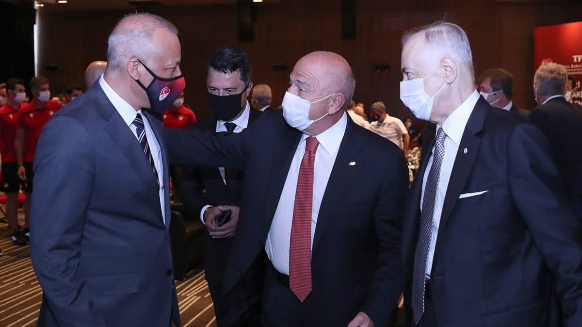 TFF Başkanı Nihat Özdemir: Artık MHK Başkanı ve MHK değiştirmek istemiyoruz