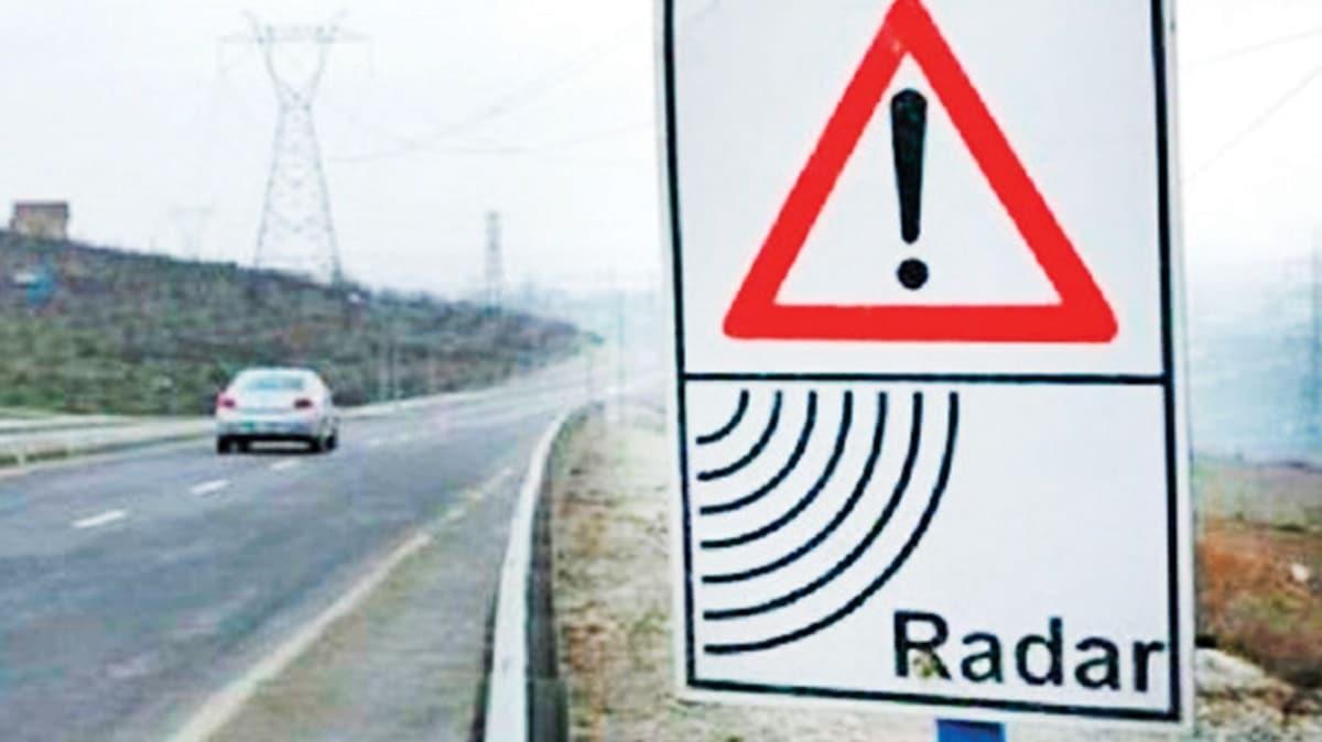 Radar yerine ortalama hız uygulaması