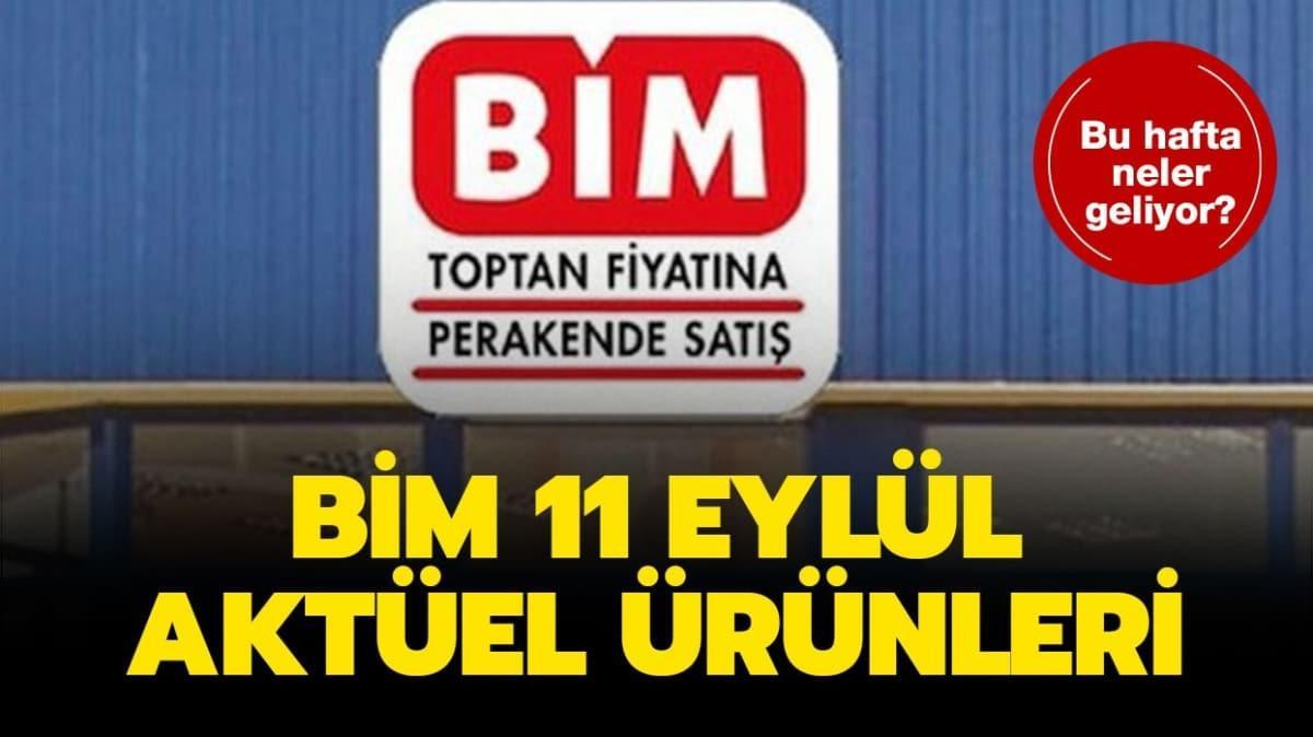 """BİM 11 Eylül 2020 aktüel ürünler kataloğu yayında! BİM'e bugün neler geldi"""""""