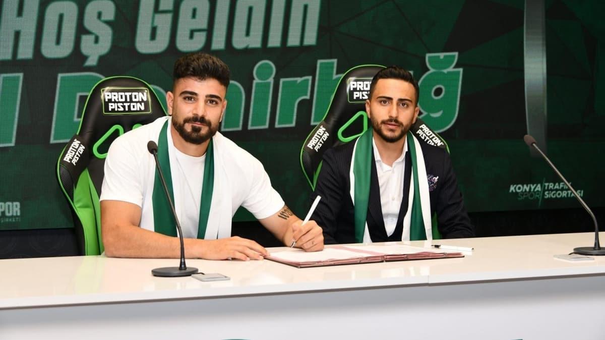 Adil Demirbağ, 3 yıllığına İttifak Holding Konyaspor'da