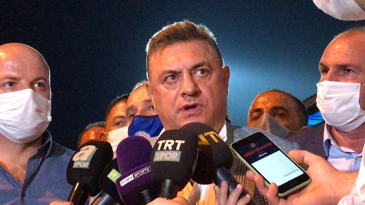 """Hasan Kartal'dan hakeme büyük tepki: """"Cezalandırılması lazım"""""""