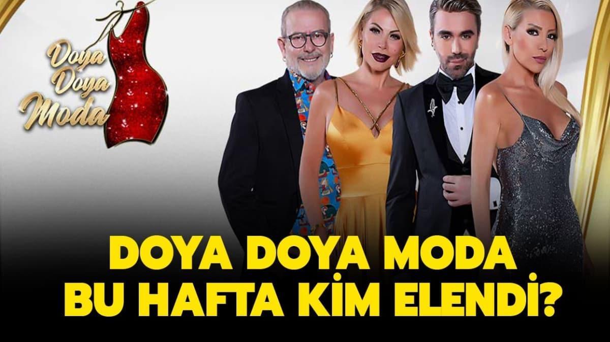 """11 Eylül Doya Doya Moda kim elendi"""" Doya Doya Moda haftanın birincisi kim"""""""