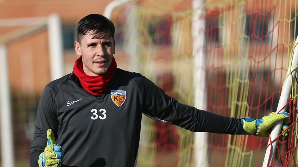 Kayserispor'da Silviu Lung'un sözleşmesi 1 yıl uzatıldı