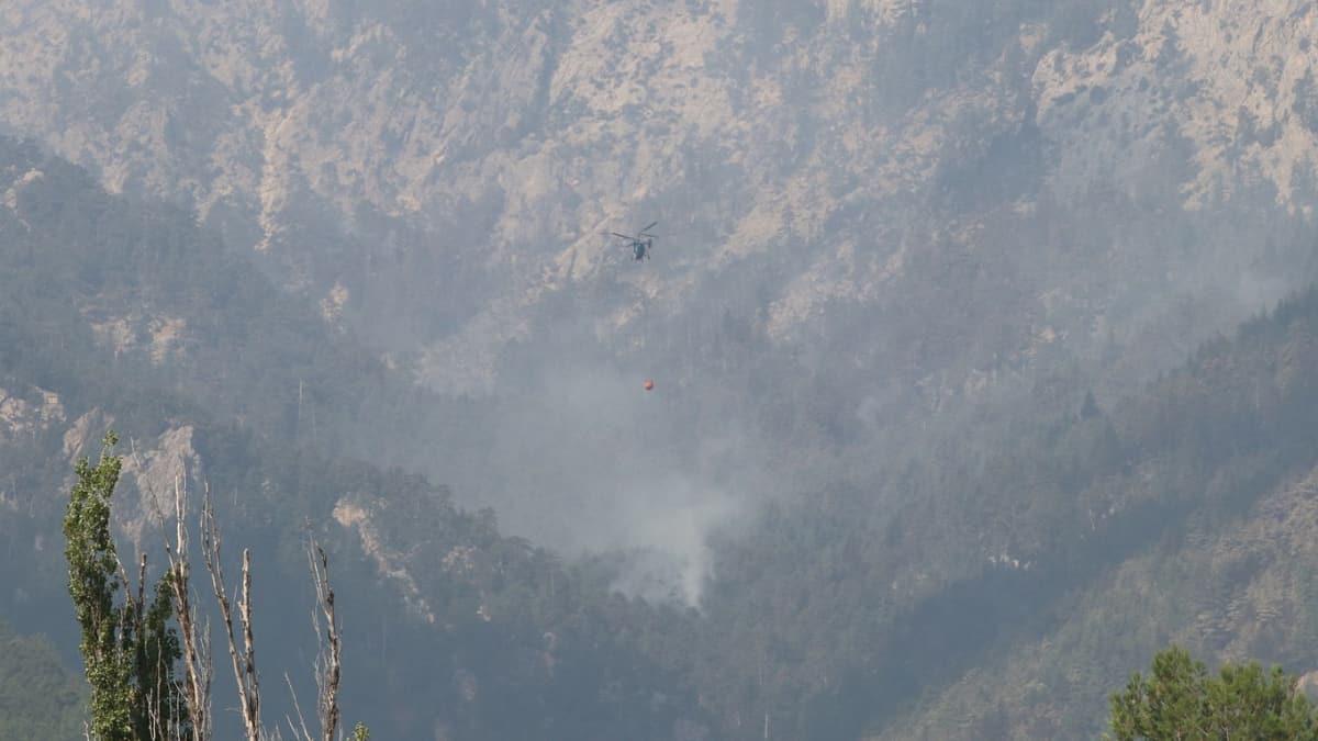 Bakan Pakdemirli: Adana-Pozantı yangını kontrol altına alınmıştır