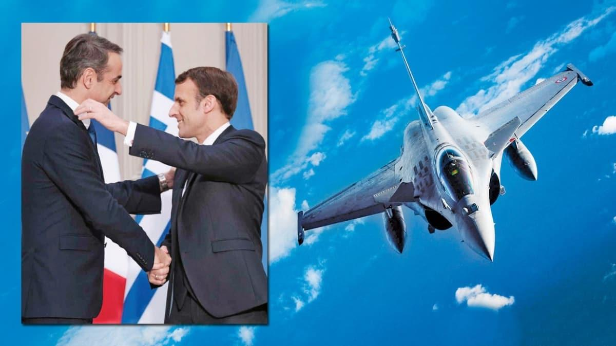 Faturayı Atina'ya ödetti! Fransa 18 savaş uçağı satıyor