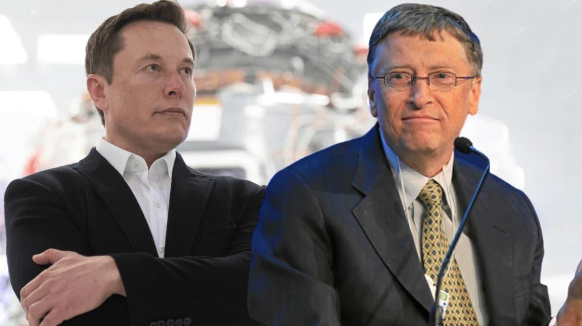 Elon Musk ve Bill Gates karşı karşıya geldi: Bu konu hakkında en ufak fikri yok