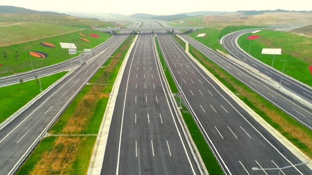 Bakan Karaismailoğlu tarih verdi: Kuzey Marmara Otoyolu 21 Aralık'ta tamamlanıyor