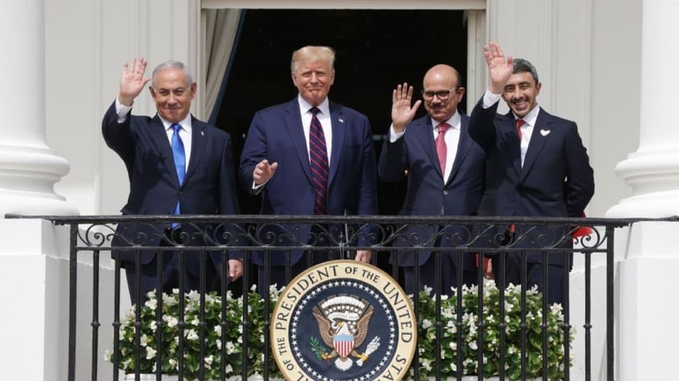 İsrail ile BAE ve Bahreyn arasında varılan ihanet anlaşmaları Beyaz Saray'da imzalandı!