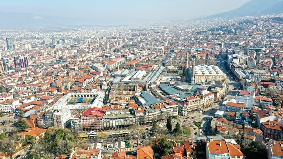 Bursa'da tarih ve yeşile dönüş