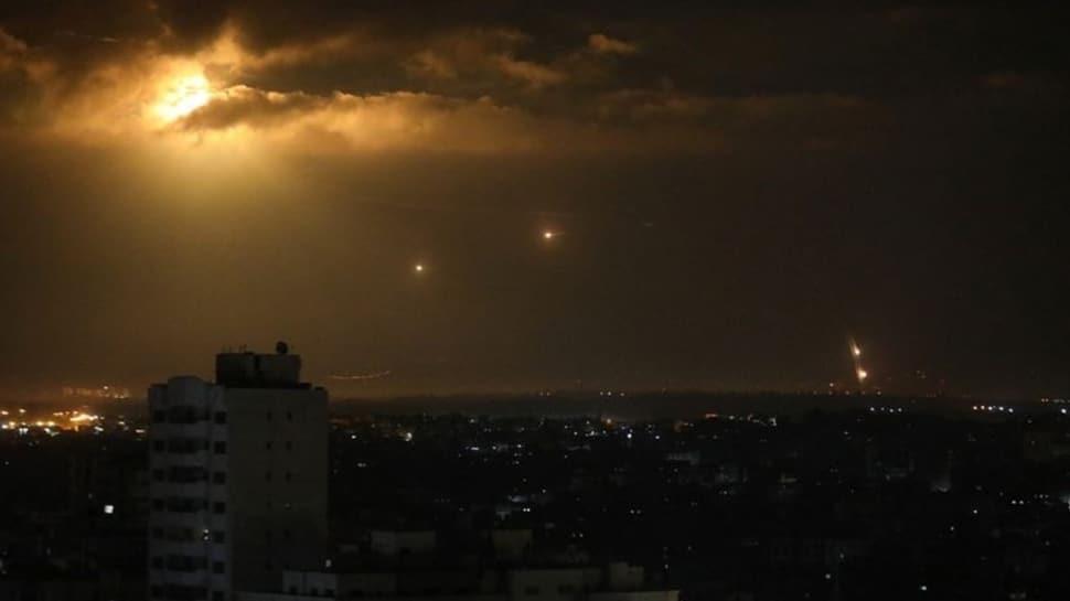 İhanet anlaşması imzalanırken Gazze'den İsrail'e roket atıldı