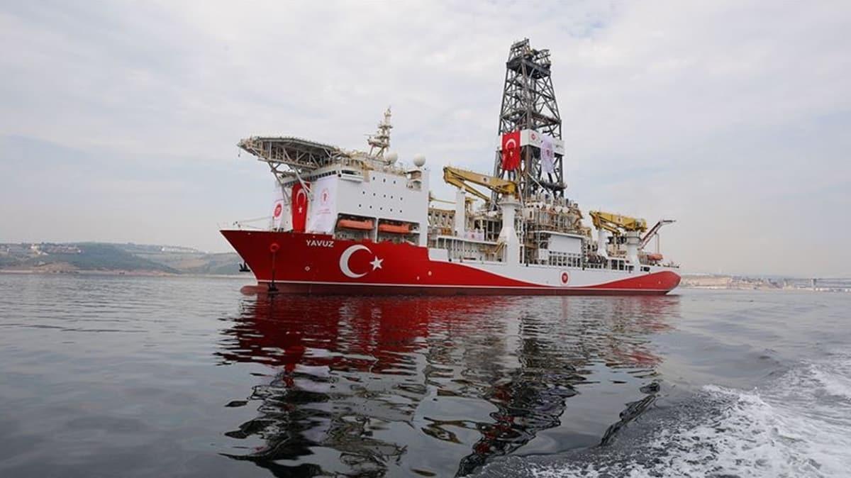 Türkiye'den yeni Navtex... Yavuz sondaj gemisinin görev süresi uzatıldı