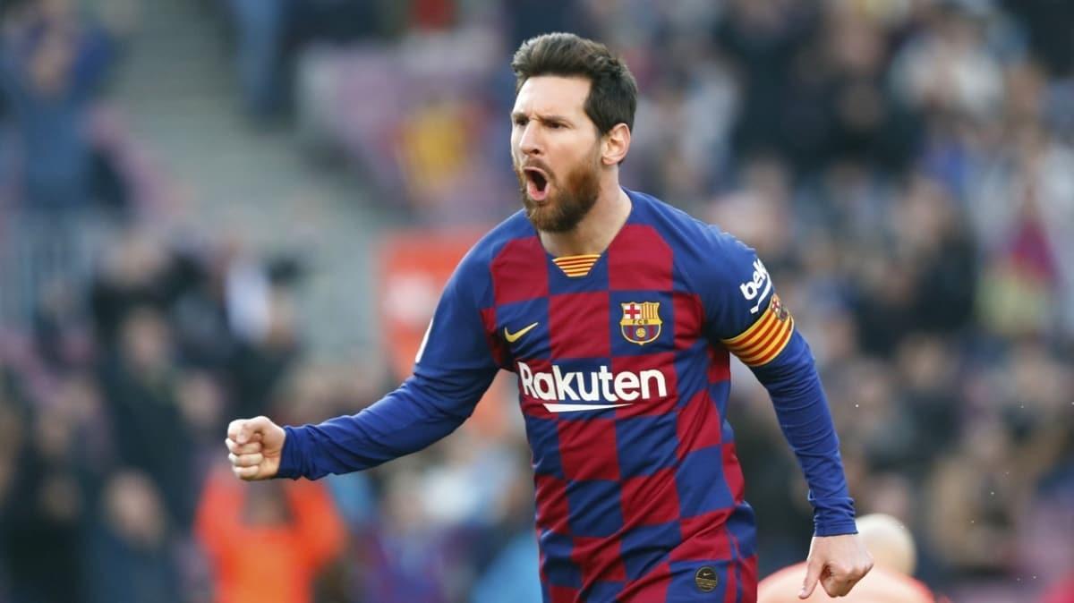2020 yılının en çok kazanan futbolcusu Lionel Messi