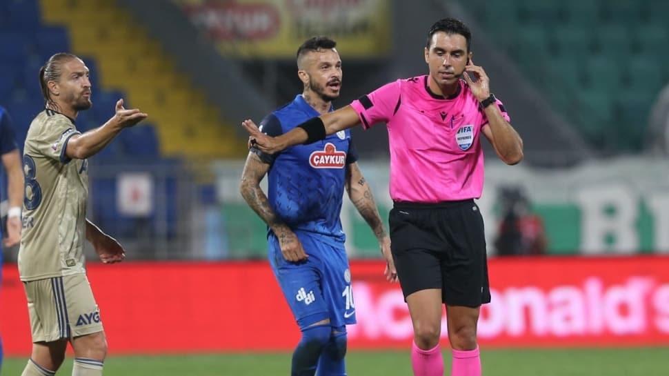 Süper Lig'de ilk hafta düdük çalan hakemlere ikinci hafta görev verilmedi