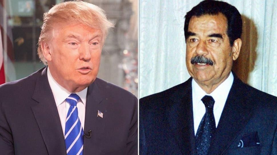 """İran'ı """"1000 kat daha büyük saldırı"""" ile tehdit etmişti... Trump'a """"Saddamlı"""" yanıt"""