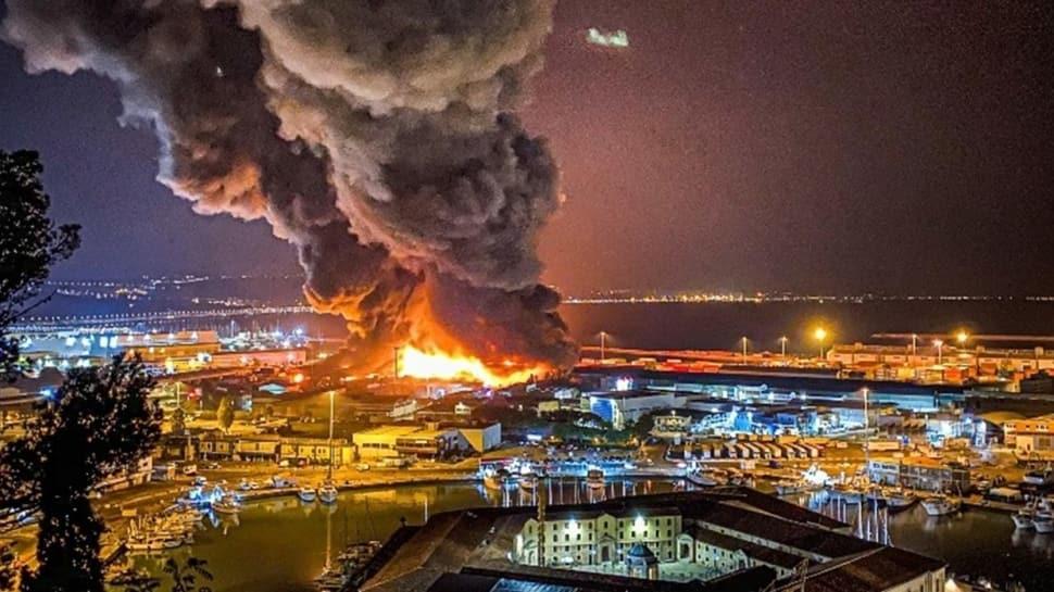 İtalya'da korkunç patlama! Okullar, milli parklar ve spor tesisleri kapatıldı