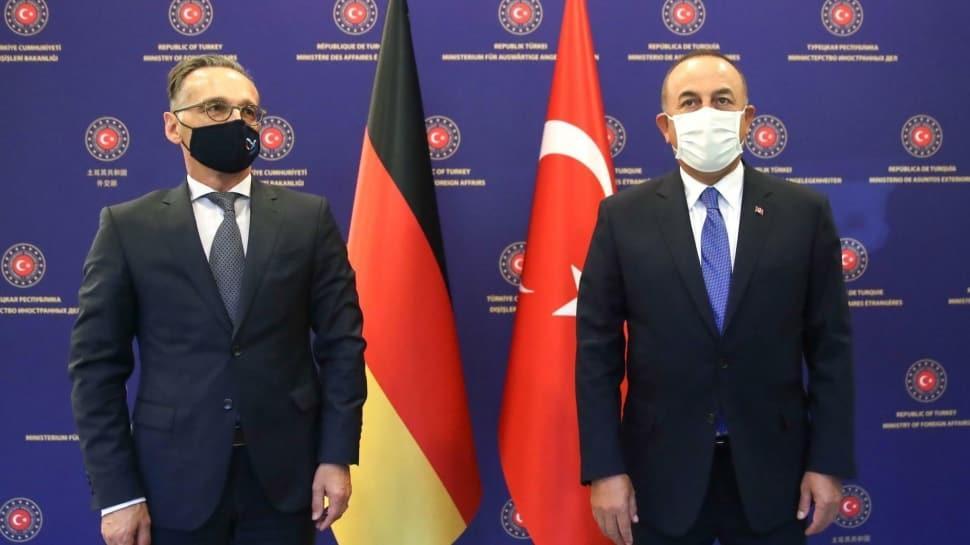 Bakan Çavuşoğlu Alman mevkidaşı Maas ile görüştü