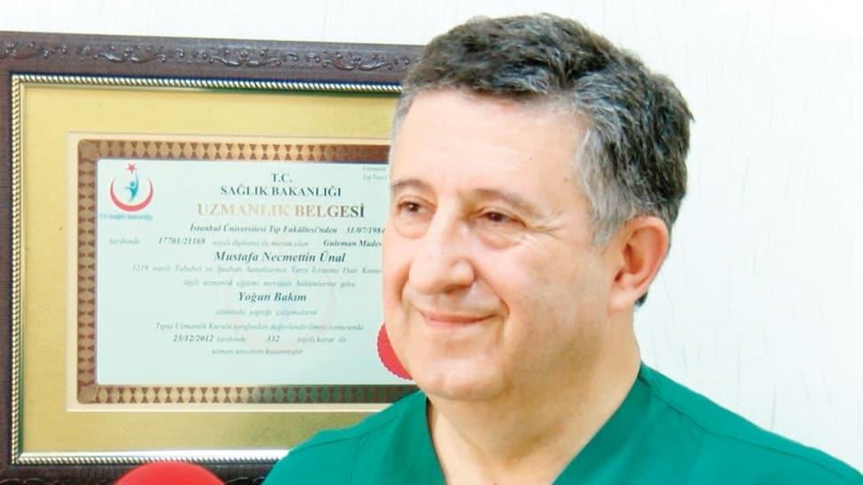 Prof. Dr. Necmettin Ünal: Yerli aşıda deneğim