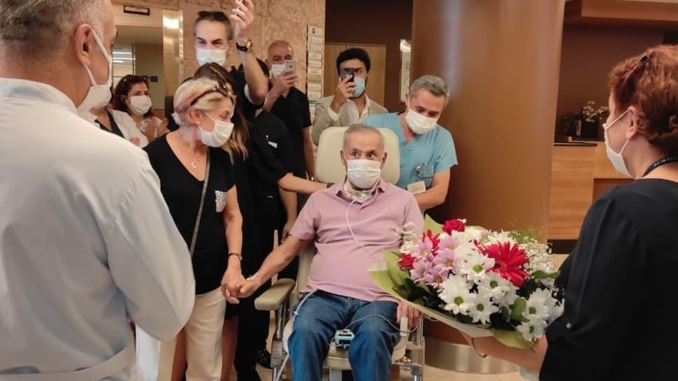 5,5 ay sonra taburcu olan koronavirüs hastası: Trafik kazası mı geçirdim?
