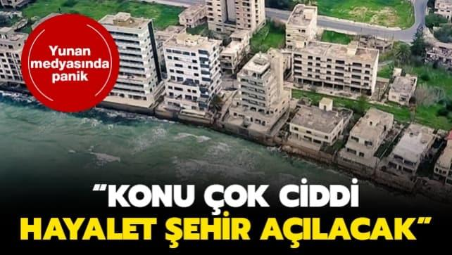 Yunan medyasında panik: Konu çok ciddi, hayalet şehir açılacak