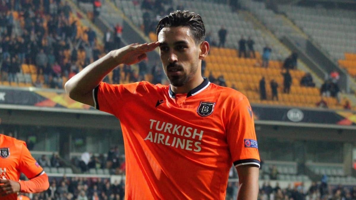 Başakşehir'in Galatasaray'a attığı son 4 golün 3'ünde İrfan Can Kahveci'den direkt katkı