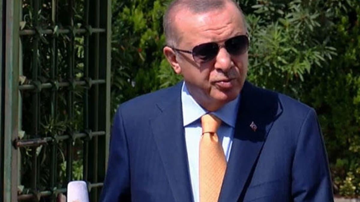 Başkan Erdoğan'dan Miçotakis'e uyarı: Gövde gösteri yaparsa biz daha büyüğünü yaparız