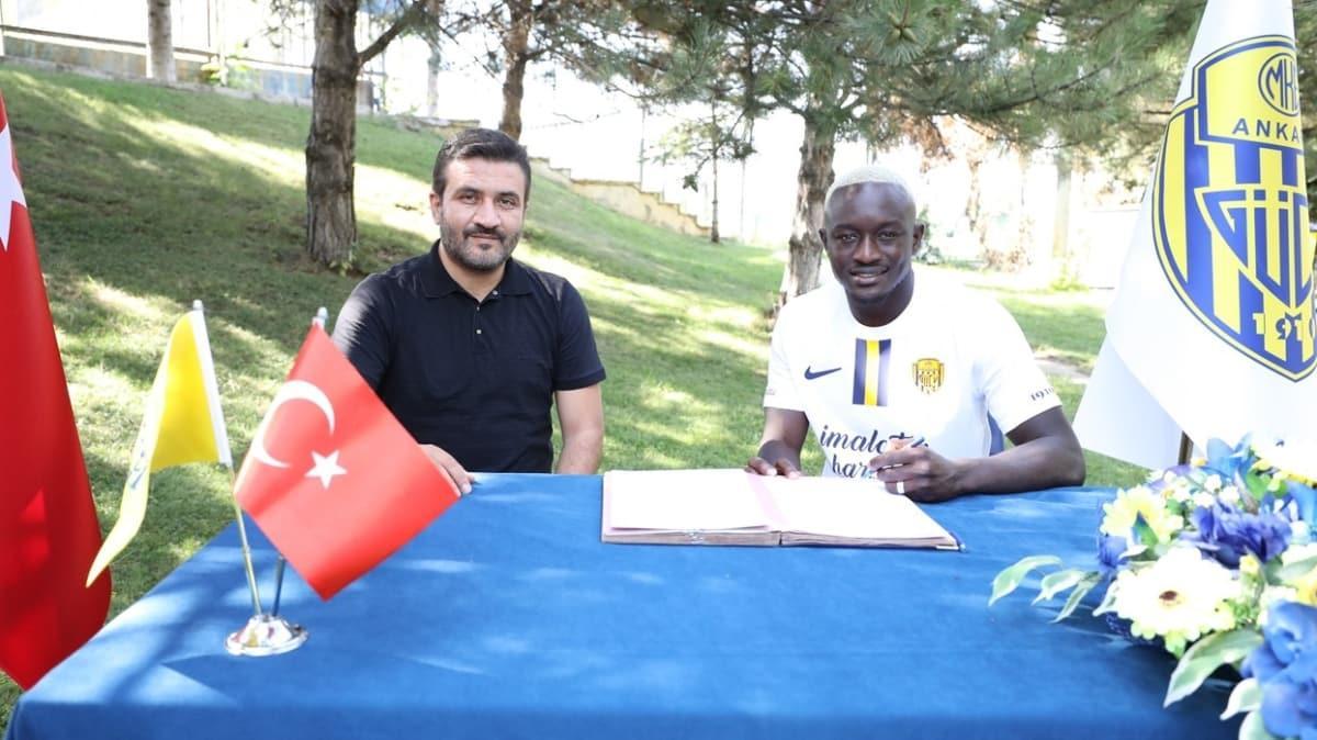 Assane Diousse 1 yıllığına Ankaragücü'nde