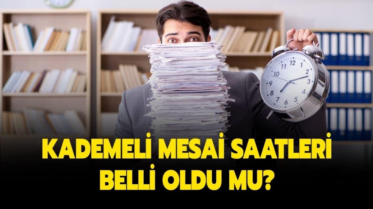 """İstanbul'da kademeli mesai saatleri yayında! İstanbul'da yeni mesai saatleri nasıl"""""""