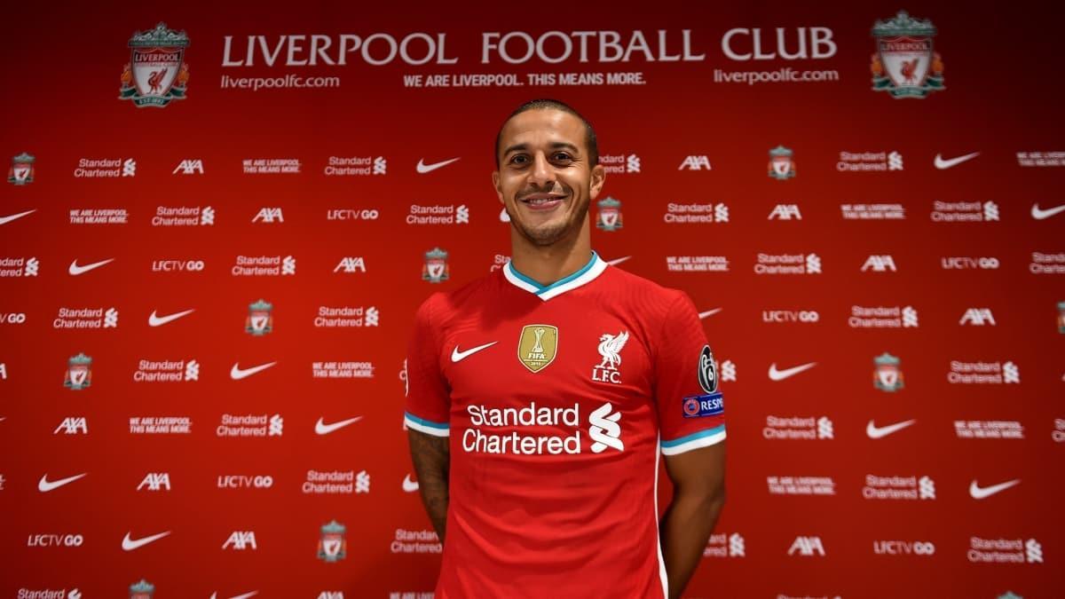 Thiago Alcantara, resmen Liverpool'da