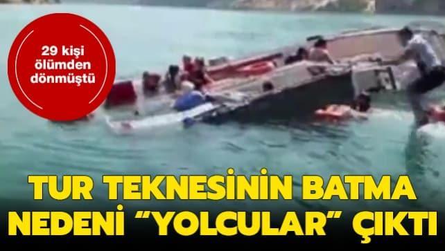 Şanlıurfa'da batan tur teknesine ilişkin detaylar ortaya çıktı! Güneşten kaçmaya çalışmışlar