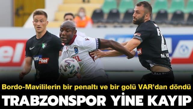 Trabzonspor yine kayıp: 0-0