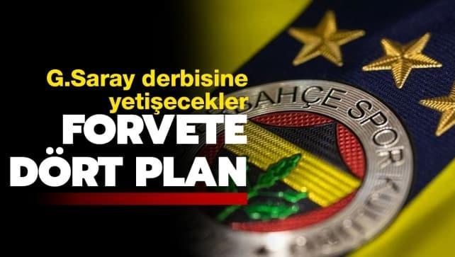 F.Bahçe, forvet transferinde 4 plan belirledi