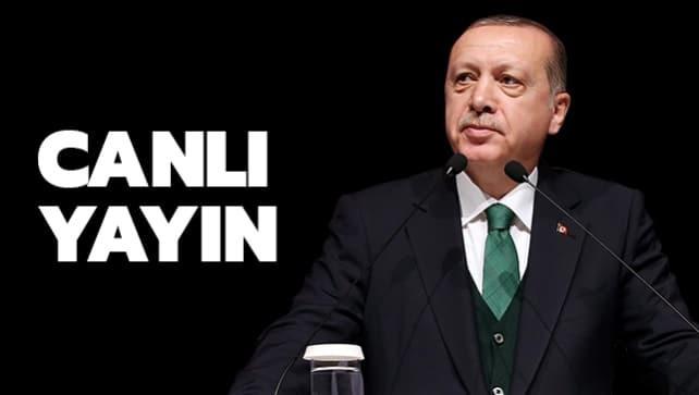 Başkan Erdoğan, Kuzey Marmara Otoyolu beşinci kısım açılış töreninde konuşuyor